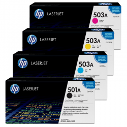 HP Pack Cartouche Toner n°501-503A