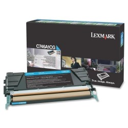 Lexmark C746H1CG Toner Cyan pour C746, C748.jpg