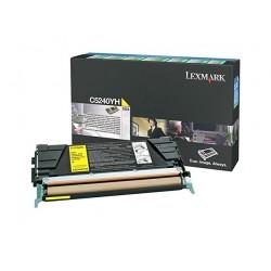 LEXMARK C5240YH Toner Jaune C5X Haute Capacité.jpg