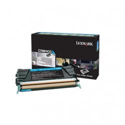Lexmark C748H1CG Toner Cyan pour C748e, C748de, C748dte.jpg