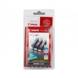 CANON Cartouche encre CLI521 Couleur Blister 3x 9ml