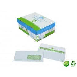 LA COURONNE 500 enveloppes écologiques DL à fenetre 80g