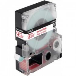 EPSON - LC3WRN9 Ruban Standard Rouge/Blanc 9mm