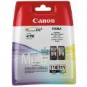 CANON Pack cartouche encre PG510-CL511
