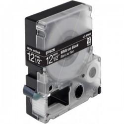 EPSON - LC4BWV9 Ruban Blanc/Noir 12mm