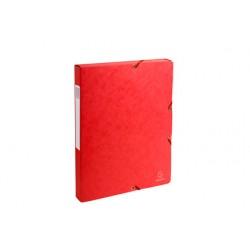 EXACOMPTA NATURE FUTURE Boîte Exabox rouge dos 2,5 cm