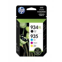 HP Pack 4 encres 934XL-935XL noir 1000 pages, couleur 825 pages