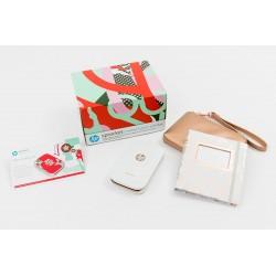 HP Sprocket imprimante photo portable + pochette + album + papier