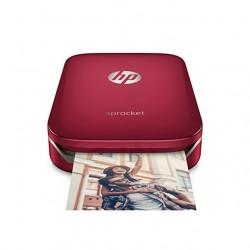 HP Sprocket imprimante photo portable rouge