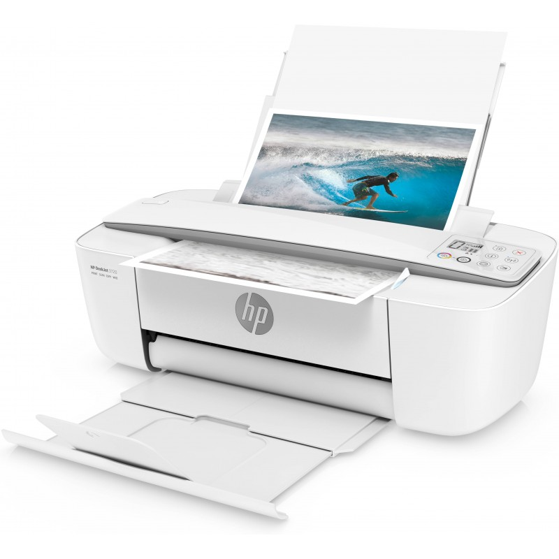 hp deskjet 3720 imprimante tout en un blanc. Black Bedroom Furniture Sets. Home Design Ideas