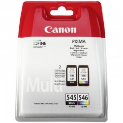 CANON PG-545 / CL-546 Multipack (Noir, Cyan, Magenta, Jaune) 2x180 pages