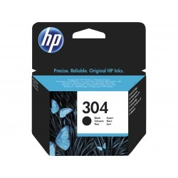 HP 304 Cartouche Noir authentique (N9K06AE)