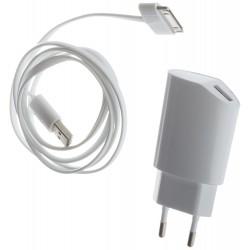 MUVIT Chargeur secteur + Câble USB