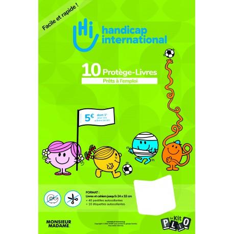 KIT PLIO 10 Protège livres