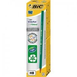 BIC Boîte de 12 crayons écolutions évolution
