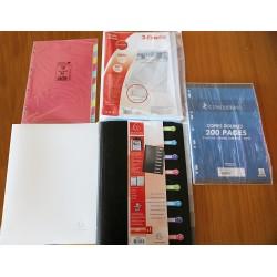 Pack Classeurs et accessoires
