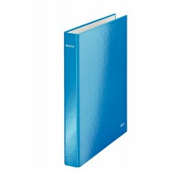 LEITZ Classeur à anneaux Wow Bleu