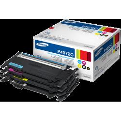 Samsung CLT-P4072C Pack de 4 Toners Noir + Couleurs