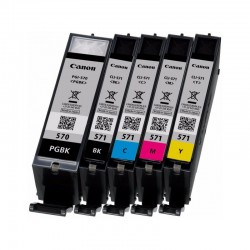 CANON Pack encre PGI-570/CLI-571 15ml+ 4x7ml