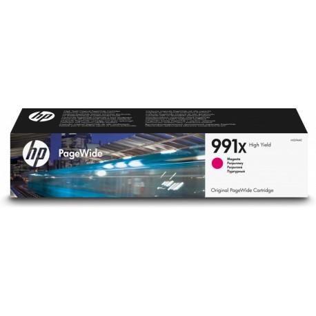 HP 991X Magenta - PageWide - haut rendement - (M0J94AE)