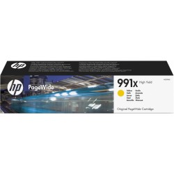 HP 991X Jaune - PageWide - haut rendement - (M0J98AE)