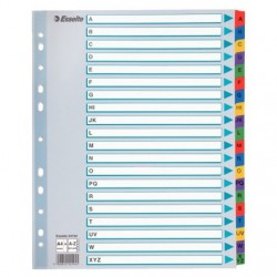 Esselte Intercalaires alphabetiques 160 g/m² A4 20 intercalaires