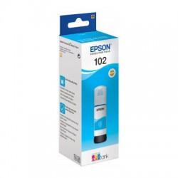 EPSON Bouteille encre Ecotank 102 Cyan Pigment 70ml