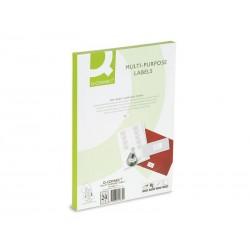 Q-CONNECT Boîte de 1400 étiquettes multi-usages blanche 99 x 38,1mm