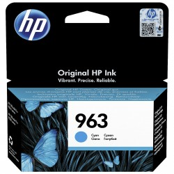 HP 963 Cyan Cartouche d'encre Originale (3JA23AE)