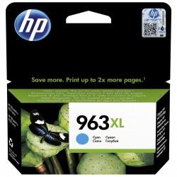 HP 963XL Cyan Cartouche d'encre Originale (3JA27AE)