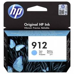 HP 912 Cyan Cartouche d'encre Originale (3YL77AE)