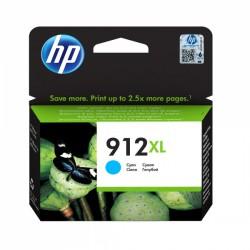 HP 912XL Cyan Cartouche d'encre Originale (3YL81AE)