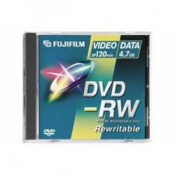 FUJI DVD-RW 4,7 GO 2X Data/Video - à l'unité