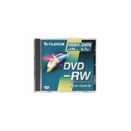 FUJI DVD-RW 4,7 GO 2X Data/Video - à l'unité