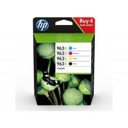 HP 963XL Pack de 4 cartouches d'encre Originale (3YP35AE)
