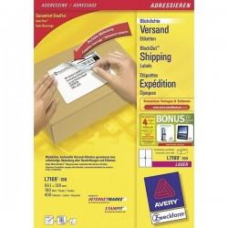 AVERY Boîte 400 étiquettes blanches (L7169) 99,1 x 139 mm