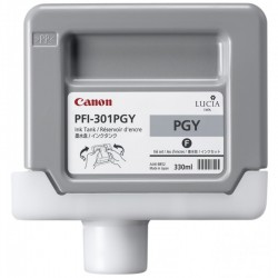 CANON Cartouche encre Photo PFI-301PGY Grise 330ML