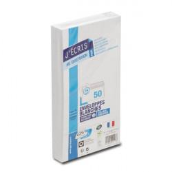 GPV Paquet de 50 enveloppes DL (110 x 220) 75 g sans fenêtre
