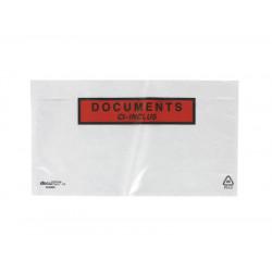Boîte de 100 pochettes « documents ci-inclus » 220 x 120 mm
