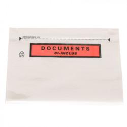 Boîte de 250 enveloppes adhésives d'expédition - Format 11 x 22 cm