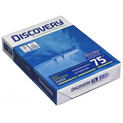 DISCOVERY Ramette 500 feuilles A4 Blanc 75g