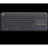 Logitech K400 - clavier sans fil - avec pavé tactile intégré