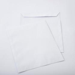250 Pochettes blanches 260x300mm sans Fenêtre auto-adhésives