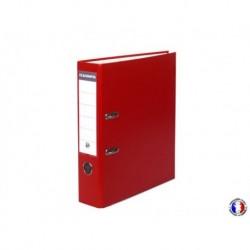 EXACOMPTA Classeur à levier polypro rouge