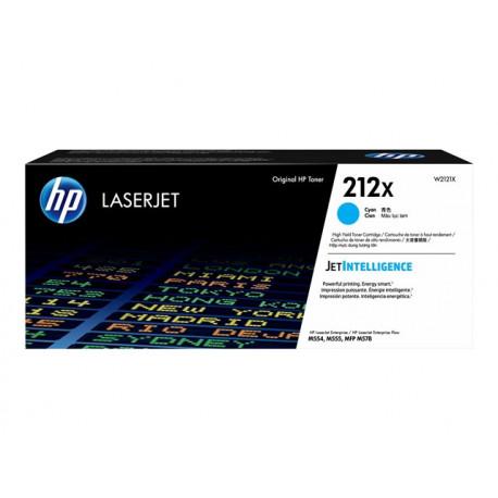 HP Toner Grande Capacité 212X Cyan 10 000 pages