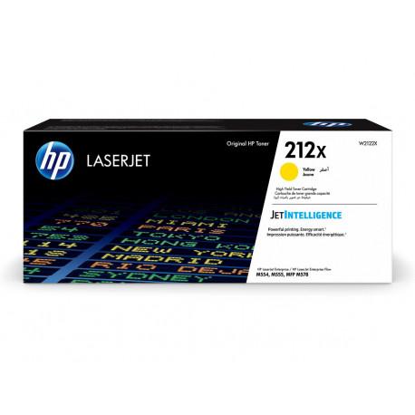 HP Toner Grande Capacité 212X Jaune 10 000 pages