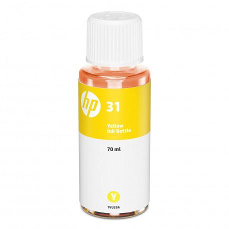 HP 31 Bouteille d'encre jaune authentique (8000 pages)