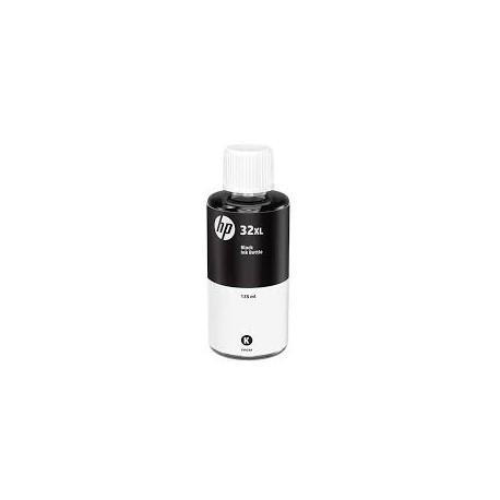 HP 32XL Bouteille d'encre noir authentique
