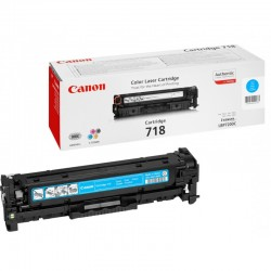CANON Cartouche Toner 718 Cyan 2900 pages
