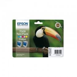 """EPSON Double pack """"Toucan"""" - Encres QuickDry C, Cc, M, Mc, J 2x66ml"""